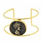 Copy roman coin cuff
