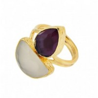 2 stones mini rings