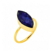 Lapis stone marques ring